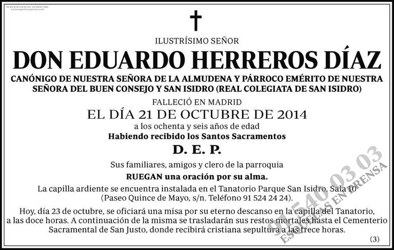 Eduardo Herreros Díaz